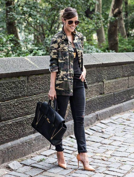 12 Outfits con Camuflaje aa7ab8ac7f15