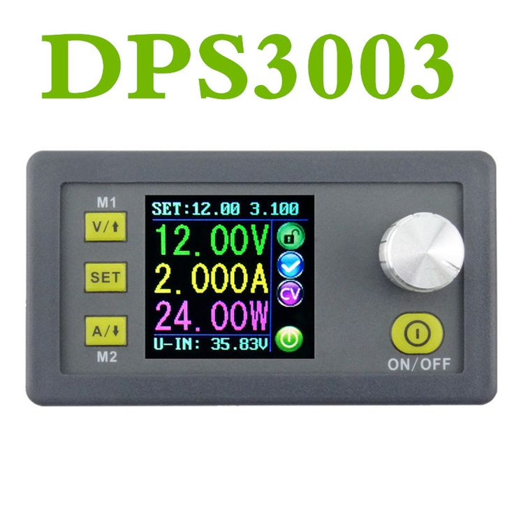 DPS3003 LCD Voltage converter Constant Voltage current voltmeter Step-down programmable control supply power module 20% off #Affiliate