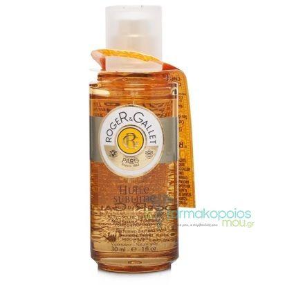 Roger & GalletPerfumed Dry Oil Huile Sublime  Ενυδατικό ξηρό λάδι για σώμα, μαλλιά & πρόσωπο.    Με το λάδιHuile Bois d'Orange, ανακαλύπτουμε και πάλι τη μαγεία του καλοκαιριού, με μεθυστικά ...