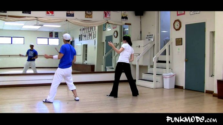 Learn Thriller Dance -- Part 3 of 40 clips - YouTube