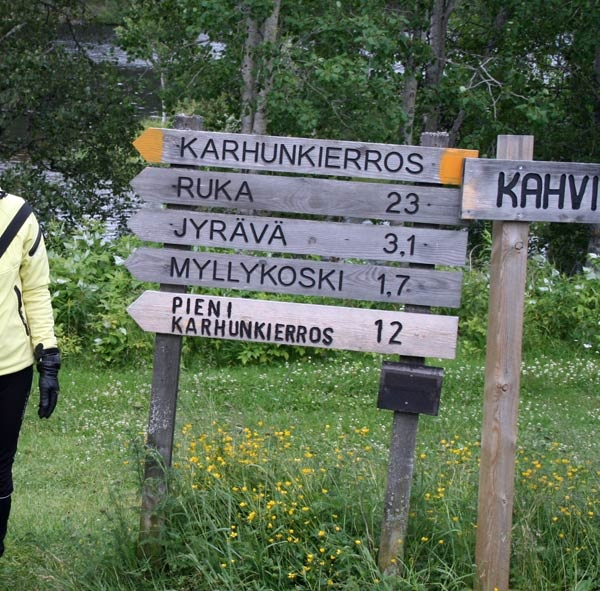 if you love hiking, please remember the Karhunkierros-hiking trip near Ruka at Kuusamo