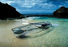 Sea Thru Kayaks VI, the US Virgin Islands only clear Kayak, located on St. Croix, USVI