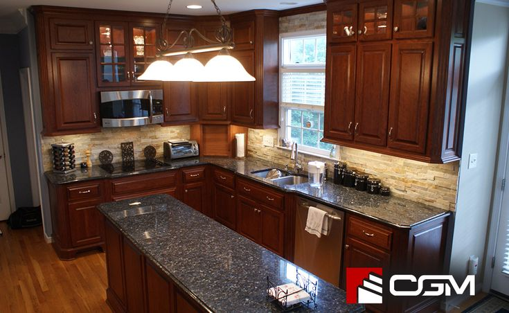 Blue Pearl | Classic Granite Kitchen Countertops, Richmond VA