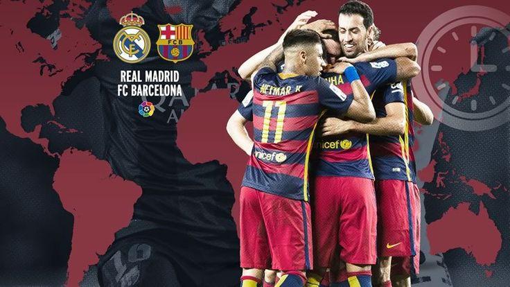 A qué hora juega Real Madrid vs Barcelona y en qué canal verlo | Liga BBVA 2015 - http://webadictos.com/2015/11/20/horario-real-madrid-vs-barcelona-liga-2015/?utm_source=PN&utm_medium=Pinterest&utm_campaign=PN%2Bposts