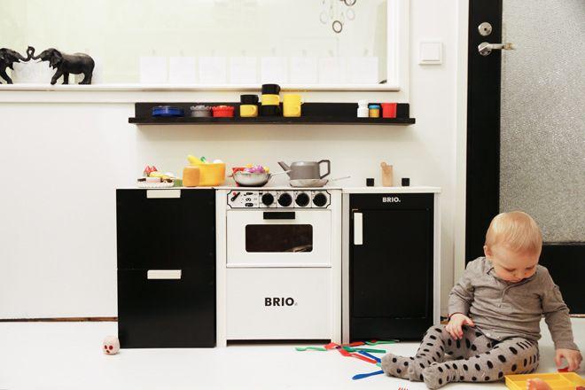 Brio play kitchen