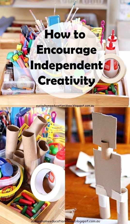 How to Encourage Independent Creativity with children