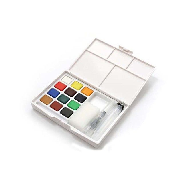 Koi Water Colour Field Sketch Box Of 12 In 2019 Sakura Koi