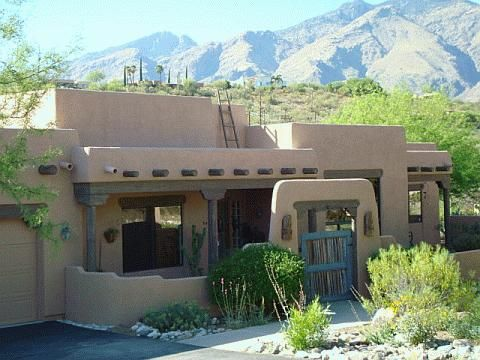 163 best images about adobe and strawbale houses for Santa fe adobe homes
