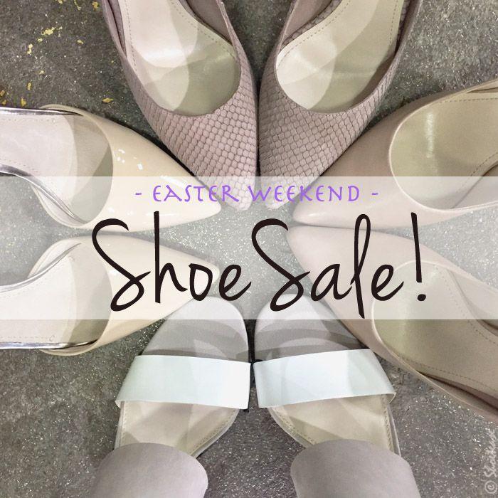 Shoe Sale Alert! Designer Shoe Warehouse Sale, Easter Weekend