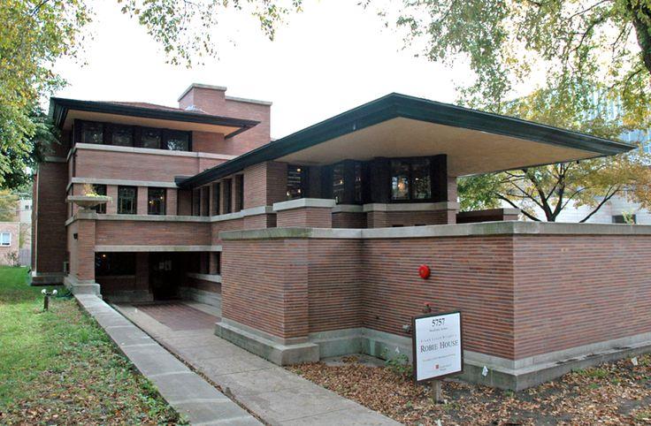 Robie House (1908), Etats-Unis, Franck Loyd Wright