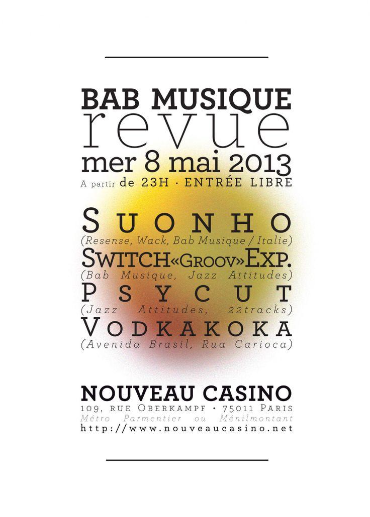 http://vodkakoka.blogspot.fr/2013/06/bab-musique-revue-vol-2-nouveau-casino.html