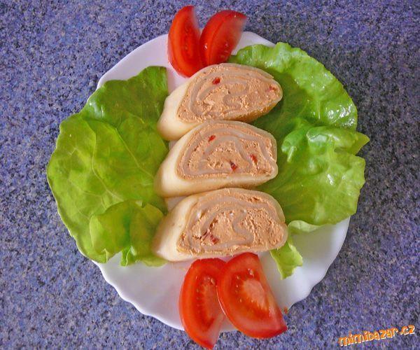 Sýrová roláda s budapešťskou náplní