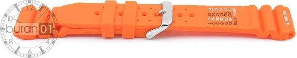 Wrist Watch Bands,Thorn Rubber Band For Citizen Sport - Orange N.D..Limits