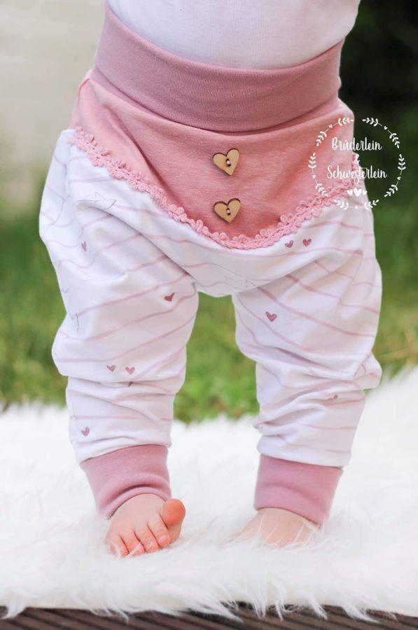 Sewing pattern baby pants Fritz von FrleinFaden