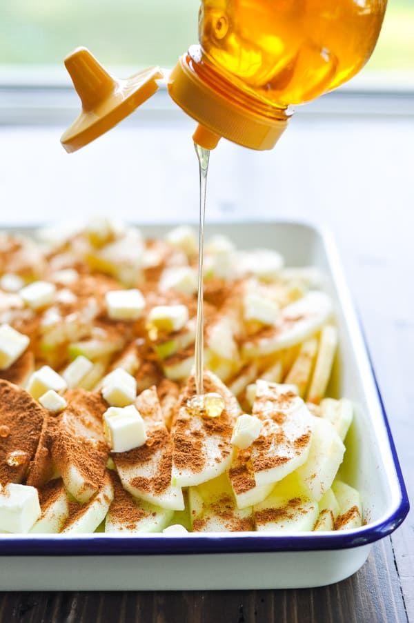 5 Ingredient Baked Apples Recipe Baked Apple Recipes Apple Recipes Apple Recipes Easy