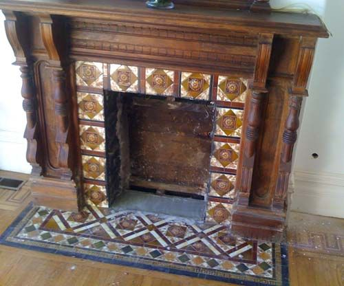 887 best all things victorian images on pinterest Victorian fireplace restoration