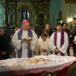 Los restos mortales de Mons. Elmer Miani descansarán a los pies de la Virgen del Valle