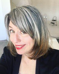 Why @silverfox40tales Ditched the Dye and Embraced Her Grey Hair