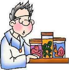image of biology student