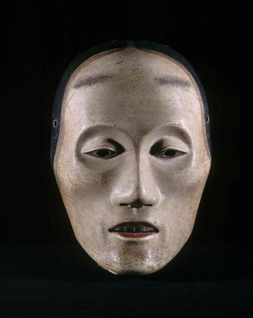 Masque Nô  (C) RMN-Grand Palais (musée Guimet, Paris) / Thierry Ollivier  Japon