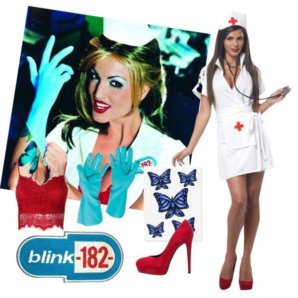 Resultado de imagen para blink 182 nurse costume