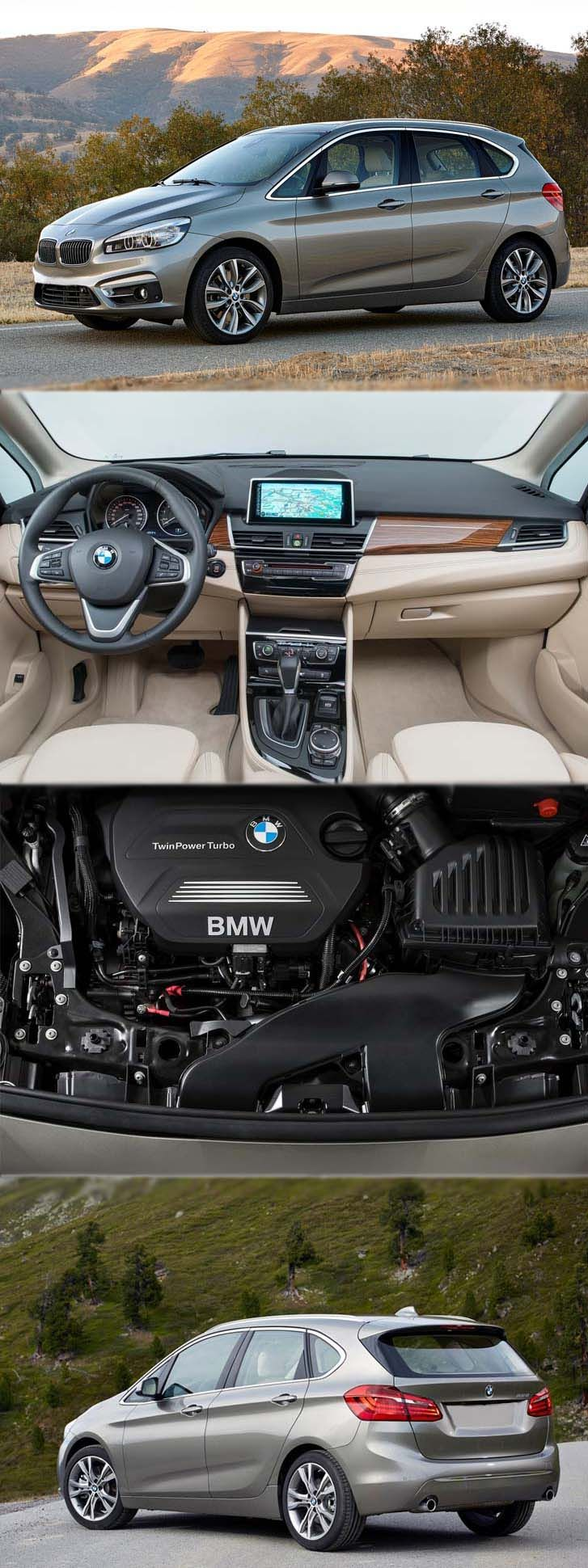BMW 220d xDrive Gran Tourer Engine #BMW #xDrive is #ExuberantDrive with #SturdyEngine #StylishBody