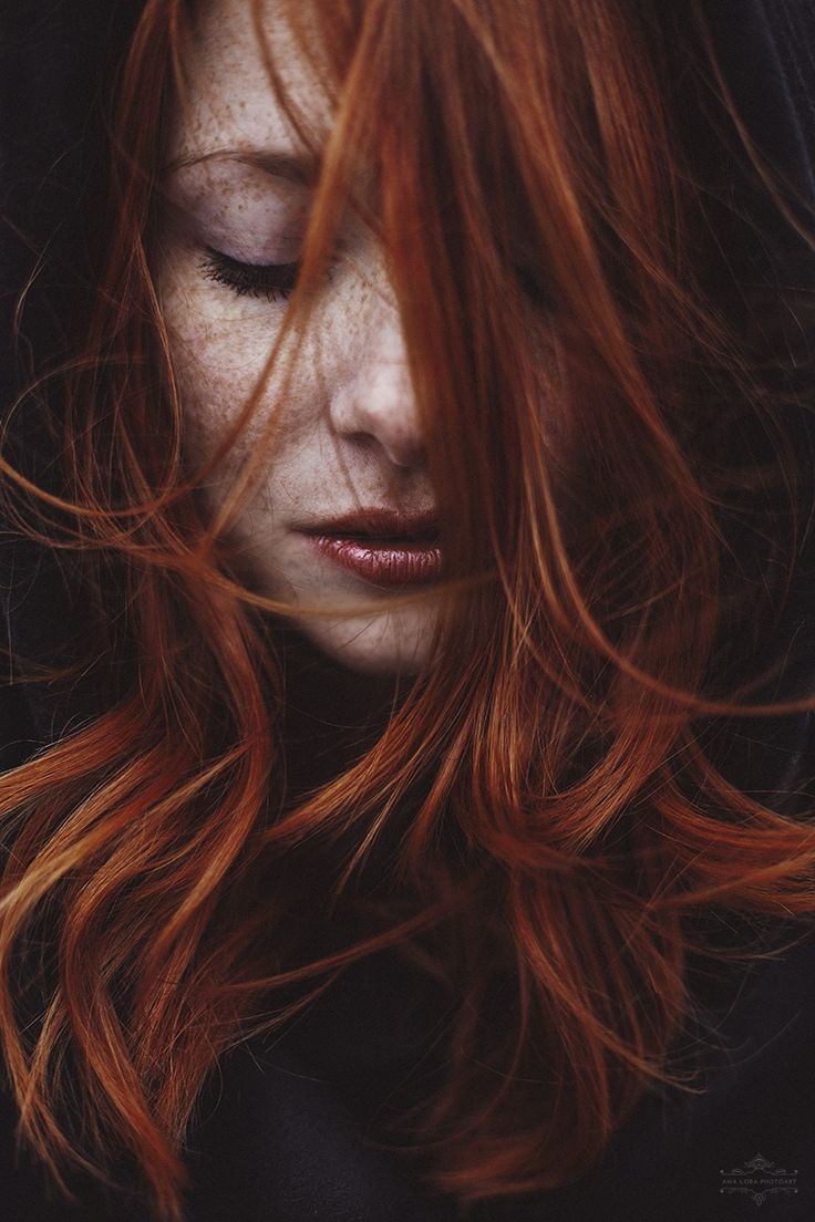 Photography Portrait - Red head and freckles