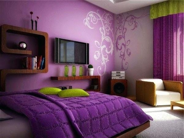Related Image Purple Bedrooms Bedroom Color Combination Purple Bedroom Paint