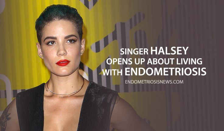 Read more about Endometriosis and how singer Halsey opened up about living with the disease.
