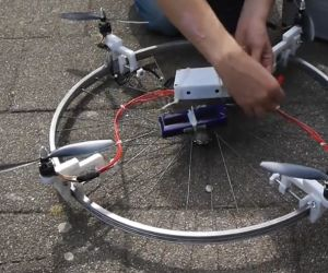 Diy Hardware Store Drone With Stabilized Camera Aerial