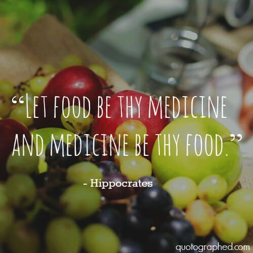 A list of quotes about food, health and medicine from Hippocrates.