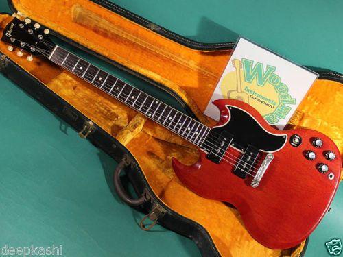 GIBSON-SG-SPECIAL-CH-1962-EX-W-Original-hard-case-Electric-guitar