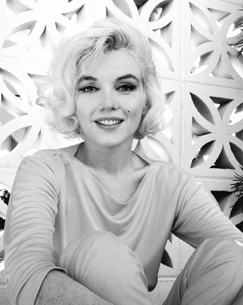 actress, famous, hair, lips, marilyn monroe, pretty, smile