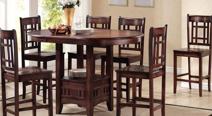 In a small dining room, you can keep round tables providing larger style and functionality in smaller space.