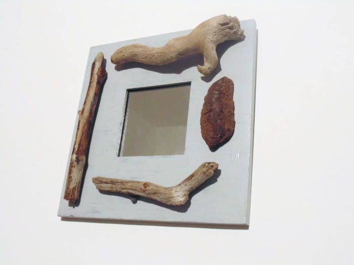 Les 25 meilleures id es de la cat gorie miroirs carr s sur for Miroir carre bois