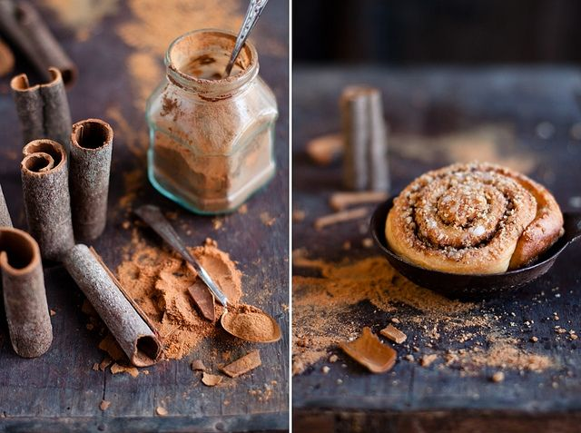 Cinnamon & Cinnamon Roll by Kinga Błaszczyk-Wójcicka Love cinnamon...it is a weakness of mine: