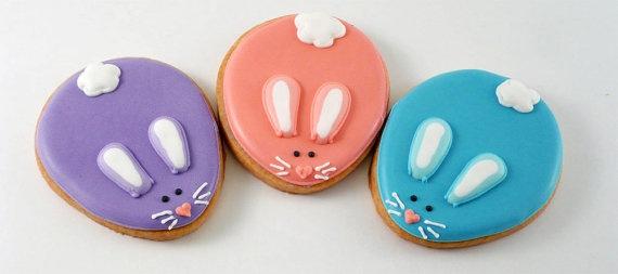 Adorable bunny cookies