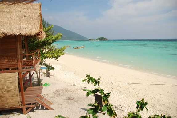 Cast Away Resort - Ko Lipe  Laid back bungalows right on the beach with a private veranda and balcony where you can relax in your own hammock...life can be good!