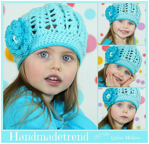 Hey, I found this really awesome Etsy listing at https://www.etsy.com/listing/230396008/girls-crochet-hat-spring-toddler-hat