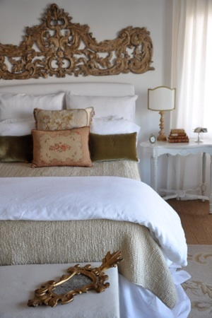 french country bedroom love the piece over the bed