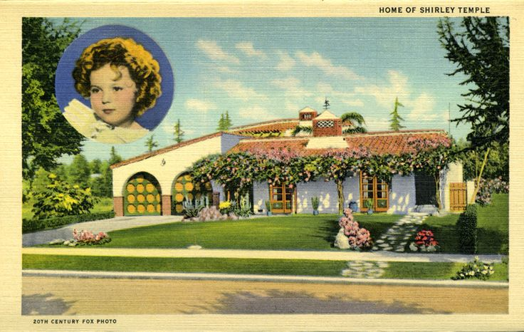 Shirley Temple 39 S House Shirley Temple Pinterest