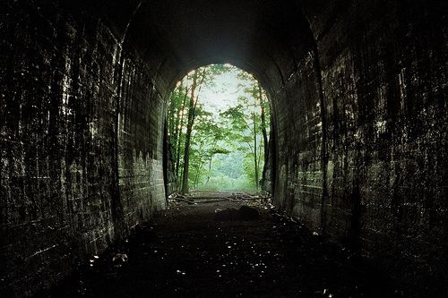 Be the light at the end of my tunnel.