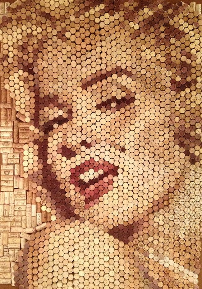 ARTE COM ROLHAS #rolhas #cork #reciclagem #sustentabilidade #upcycling #arte #artecomrolhas