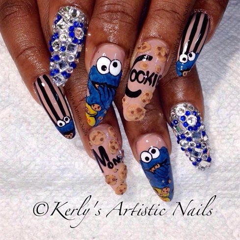 18 best Kerly\'s Artistic Nails - Nail Art Designs images on ...
