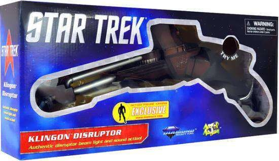 Star Trek The Search For Spock Klingon Disruptor Roleplay Toy Diamond Select Toys - ToyWiz