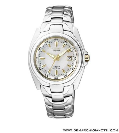 Citizen Supertitanio Lady Eco Drive ew0911-50a  www.demarchigianotti.com
