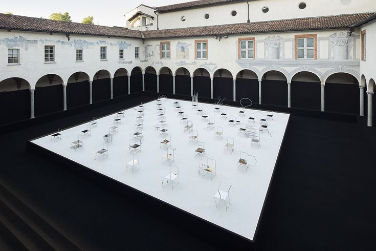 Oki Sato, founder of Japanese design studio nendo, drew inspiration from manga comics to conceive his latest installation for Friedman Benda unveiled at Milan Design Week 2016.