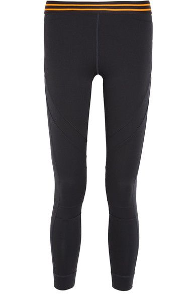 The Upside - Stretch-jersey Leggings - Navy - x small