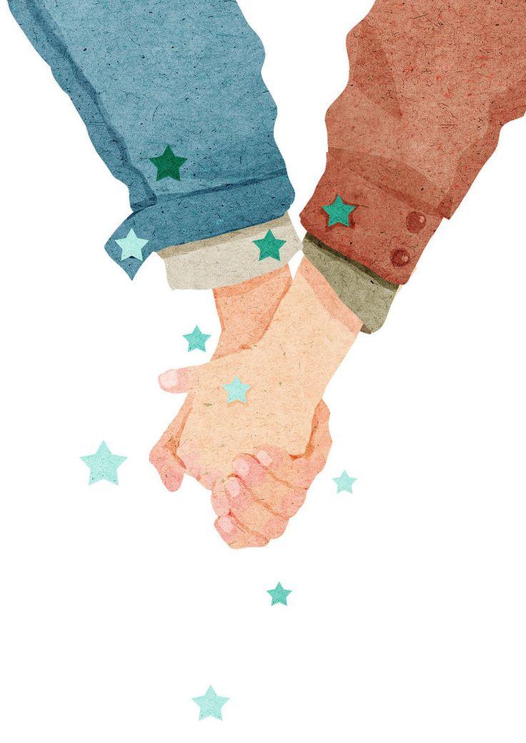 Hand in hand by xuanlocxuan.deviantart.com on @DeviantArt