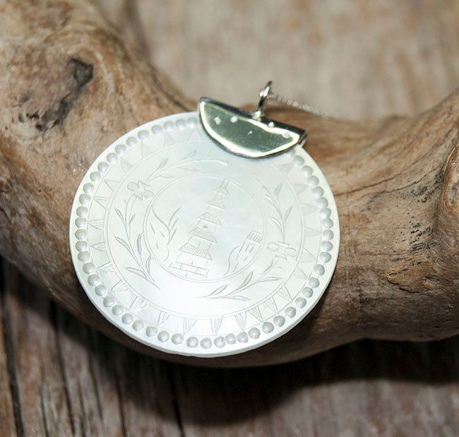 Alternative Silver Wedding Gifts : and silver pendant, wedding jewellery, bridesmaid gift, alternative ...